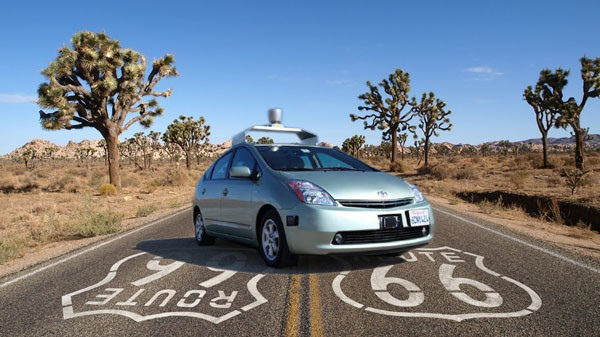 Auto senza conducente curiosità