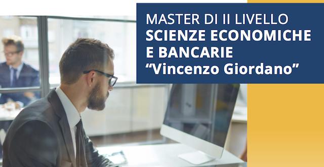 master Scienze economiche e bancarie
